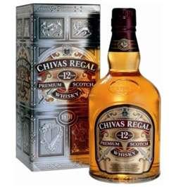 Chivas Regal Whisky 12 años