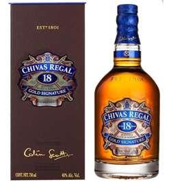 Chivas Regal Whisky Escoces 18 anos
