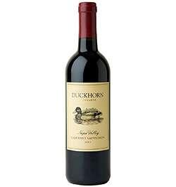 Duckhorn Cabernet Sauvignon, Vino