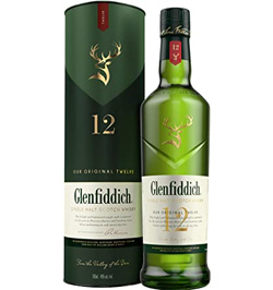 Glenfiddich Whisky escocés 12 years old