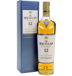 Macallan 12 Años Triple Cask Whisky