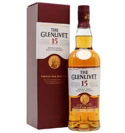 single malt the glenlivet 15 anos The Glenlivet