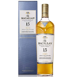 The Macallan Whisky triple cask 15 años