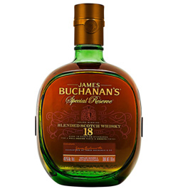 Whisky buchanans 18 años