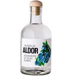 Aguardiente Heredad de Aldor Orujo Blanco 500 ml